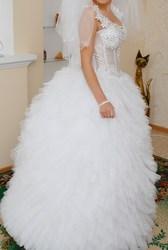 продам шикарное свадебное платье модель 2011 г.