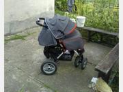 Продается коляска Capella есть дождевик и утепленный матрасик,  б/у