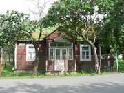 одноэтажный - деревянный дом